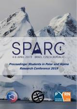 Obálka pro Proceedings: Students in Polar and Alpine Research Conference 2019