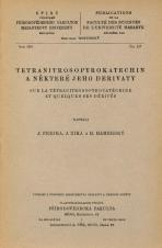 Obálka pro Tetranitrosopyrokatechin a některé jeho derivaty