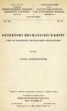 Detektory mechanických kmitů