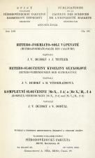 Obálka pro Hetero-formiato-soli vápenaté