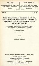 Über Moraviodrilus pygmaeus n. g. n. sp., Rhyacodrilus falciformis br., Ilyodrilus bavaricus oschm. und Bothrioneurum vejdovskýanum št.