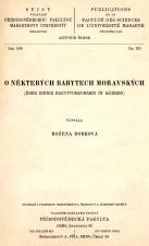 O některých barytech moravských