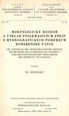 Morfologický rozbor a výklad Ptolemaiových zpráv o hydrografických poměrech komárenské pánve