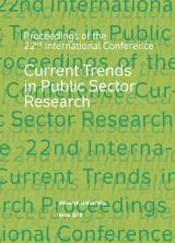 Obálka pro Current Trends in Public Sector Research. Proceedings of the 22nd International Conference
