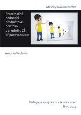 Obálka pro Prezentačně-hodnotící předmětové portfolio v 7. ročníku ZŠ. případová studie