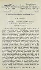 Nové studie o tkanivu Chordy dorsalis / Neue Studien über das Gewerbe der Chorda dorsalis