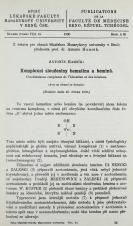 Obálka pro Komplexní sloučeniny hematinu a heminů / Combinaisons complexes de l'hématine et des hémines