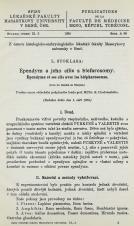 Ependym a jeho cilie s blefarosomy / Épendyme et ses cils avec les blépharosomes