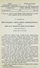 Obálka pro Mikroskopický vzhled orgánů omlazených krys / Étude sur la structure des organes des rats rajeunis. [Část I]
