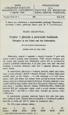 Fosfor v játrech a jaterních buňkách / Phosphor in der Leber und den Leberzellen