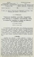 Obálka pro Vzdornost háďátka octového (Anguillula aceti Ehrbg.) k rozdílům osmotického tlaku / La résistance de l'anguillule de vinaigre aux différences de la pression osmotique ; Trvaní života háďátka octového (Anguillula aceti) a nítěnky (Tubifex rivulorum) v prostředí o různém pH / La survie de l'anguillule de vinaigre (Anguillula aceti) et du tubifex (Tubifex rivulorum) dans un milieu à pH varié