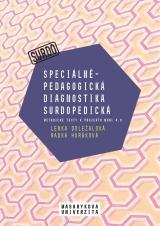 Obálka pro Speciálněpedagogická diagnostika surdopedická. Metodické texty k projektu MUNI 4.0. Pedagogická fakulta, studijní program Logopedie (Bc.)