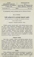 Obálka pro Další příspěvek k serologii zimních spáčů / Nouvelle contribution a la sérologie des mammiféres nivernants