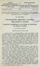 Akromegalický gigantism s poruchou uhlovodanové výměny / Gigantisme acromégalique avec une lésion du métabolisme des hydrates de carbone