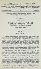 Příspěvek k anomální viskositě / Contribution à la viscosité anomale