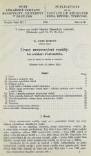 Obálka pro Úrazy motorovými vozidly / Les accidents d'automobiles