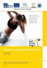 Výzkum ve sportovním tréninku V