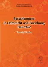 Obálka pro Sprachkorpora in Unterricht und Forschung DaF/DaZ