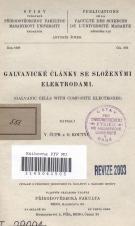 Galvanické články se složenými elektrodami