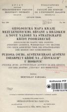 Geologická mapa kraje mezi Lenešicemi, Břvany a Hrádkem a nové názory na stratigrafii křídy poohárecké