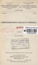 Obálka pro Chironomidarum larvae et nymphae. I.