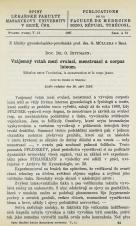 Obálka pro Vzájemný vztah mezi ovulací, menstruací a corpus luteum / Rélation entre l'ovulation, la menstruation et le corps jaune