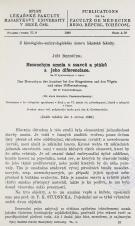 Mesenchym amnia u ssavců a ptáků a jeho diferenciace / Das Mesenchym des Amnions bei den Säugetieren und den Vögeln und seine Differenzierung