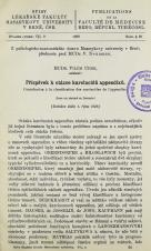Obálka pro Příspěvek k otázce karcinoidů appendixů / Contribution à la classification des carcinoïdes de l'appendice