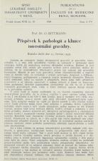 Příspěvek k pathologii a klinice interstitiální gravidity / Sur la pathologie et la clinique du gravidité interstitielle