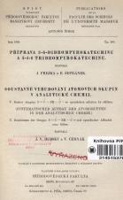 Obálka pro Příprava 3-6-dibrompyrokatechinu a 3-4-6 tribrompyrokatechinu.