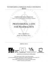 Obálka pro Professional latin for pharmacists