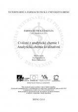 Obálka pro Cvičení z analytické chemie 1.