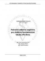 Obálka pro Pokročilá odborná angličtina pro studenty Farmaceutické fakulty VFU Brno