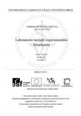 Obálka pro Laboratorní metody experimentální fytochemie