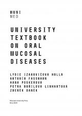 Obálka pro University textbook on oral mucosal diseases