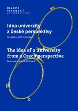 Obálka pro Idea univerzity z české perspektivy. Rozhovory s Jiřím Hanušem