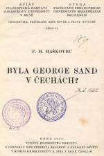Obálka pro Byla George Sand v Čechách?