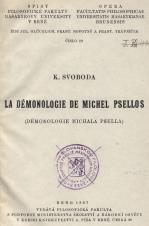 Obálka pro La Démonologie de Michel Psellos