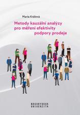 Obálka pro Metody kauzální analýzy pro měření efektivity podpory prodeje