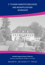 Obálka pro 2nd Plasma Nanotechnologies and Bioapplications Workshop. Scientific Program & Book of Abstracts