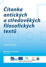 Obálka pro Čítanka antických a středověkých filosofických textů