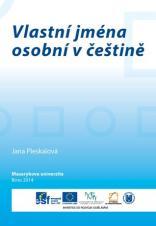 Obálka pro Vlastní jména osobní v češtině