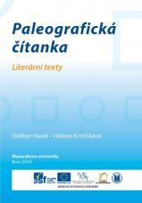 Obálka pro Paleografická čítanka. Literární texty