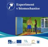 Obálka pro Experiment v biomechanice