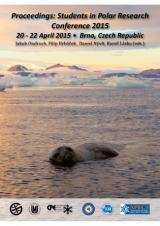 Obálka pro Proceedings: Students in Polar Research Conference 2015