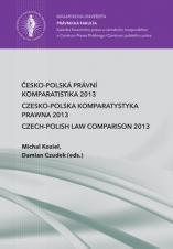Obálka pro Česko-polská právní komparatistika 2013