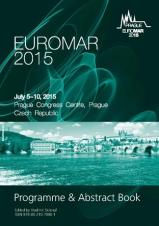 Obálka pro EUROMAR 2015. Programme and Abstract Book