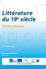 Obálka pro Littérature du 19e siècle. Textes choisis
