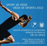 Obálka pro Sport ve vědě, věda ve sportu 2012