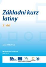 Obálka pro Základní kurz latiny. 2. díl